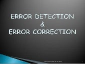GROUP03_AMAK:ERROR DETECTION AND CO...