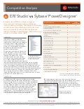 ER/Studio® vs Sybase PowerDesigner