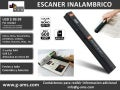 Escaner portatil inalambrico USD $ 89.99