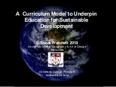 A  Curriculum Model to Underpin Edu...