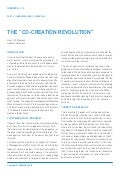 "Esomar The ""Co-Creation Revolution"" Unilever"