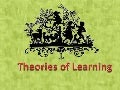 Esp theories of learning