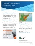 Esri and AccuWeather