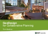 GeoDesign for Collaborative Planning