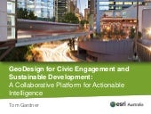GeoDesign for Civic Engagement and ...