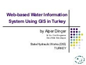 ESRI EUC 2007 - Web-based Water Inf...