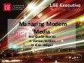 Managing Modern Media: an introduction LSE Executive Summer School 2015