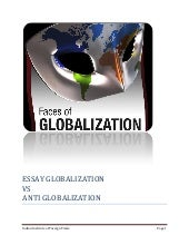Globallization Vs Anti Globalization