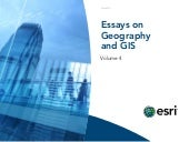 Essays on Geography and GIS, Vol. 4