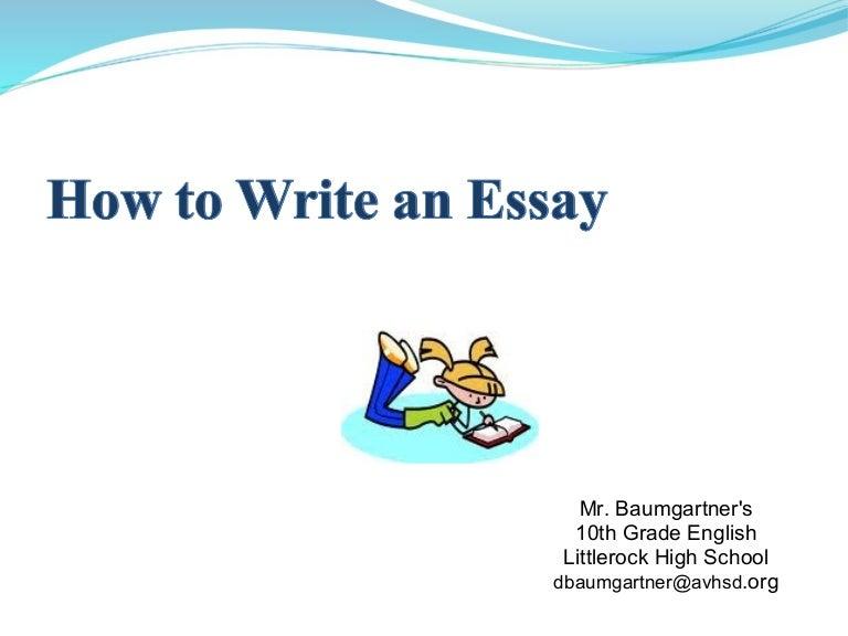 Imperative essay