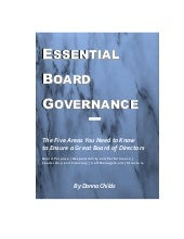 Essential Board Governance