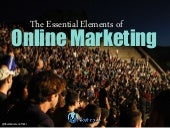 The Essential Elements of Online Marketing
