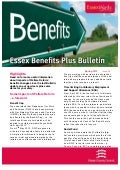 Essex Benefits Bulletin - Spring 2012