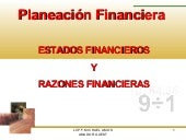 PLANEACION FINANCIERA (ANALISIS FIN...