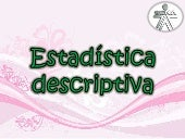 Estadstica descriptiva