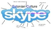 Estonian culture g.linnamae