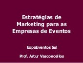Estratégias de Marketing para as Em...