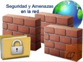 Seguridad y amenazas en la red.