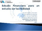 Estudio financiero para un estudio ...