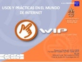 Estudios world internet project