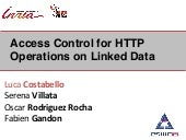 Access Control for HTTP Operations ...