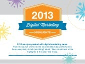 2013 Digital Marketing Year in Review
