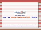 Free Income Tax Return Filing