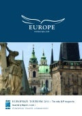 European Travel Commission 2011 Trends and Outlook