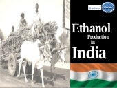 Ethanol Production India