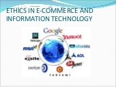 Ethics in e commerce n it