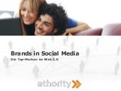 ethority Studie - Brands In Social ...