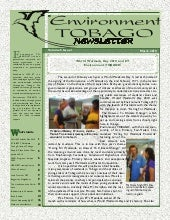 Environment Tobago Newsletter March...
