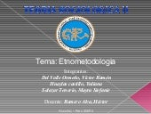 Etnometodologia