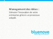Etude bluenove 2012 - Le management...