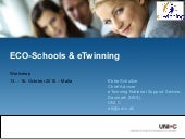 Etwinning eco schools-workshop_2010...