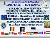 Etwinning Project Different But Equ...