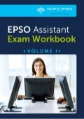 EU Assistant Exams Workbook - Volume I