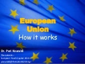 European Union:How it works