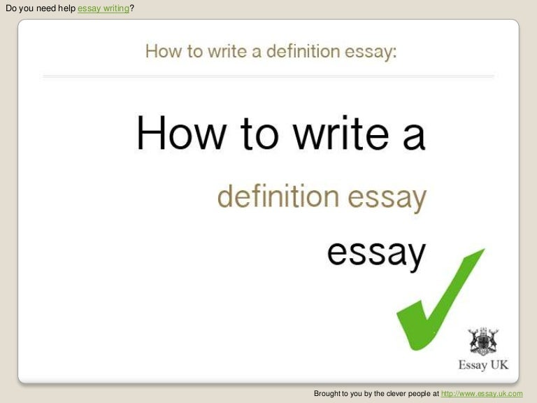 How to Write a Definition Essay  with Pictures    wikiHow  Essay evaluate definition Resume Go