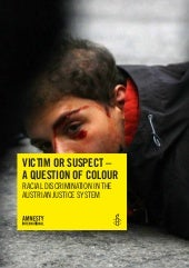 VICTIM OR SUSPECT - A QUESTION OF C...