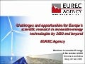 Challenges and Opportunities of Renewable Energy Research 2020 and beyond