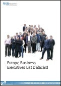 Europe Business Executives List Datacard