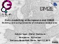 Data modelling at Europeana and DM2E - SMW13