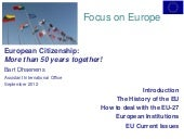 European citizenship (handout)