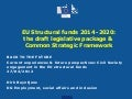 European commission presentation on future of EU funds post 2013