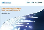 European Energy Markets:  How Utili...