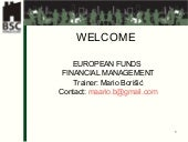 European Funds Financial Management...