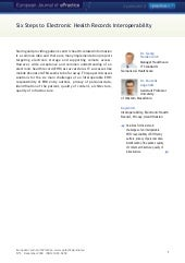 European Journal Epractice Volume 8.2