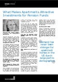 What Makes Apartments Attractive Investments for Pension Funds
