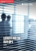 Europe lobbying report - Transparency